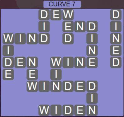 Wordscapes Passage Curve 7 – Level 2503 Answers