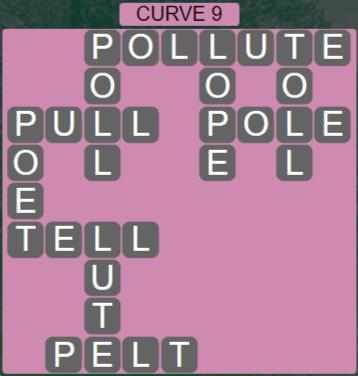 Wordscapes Passage Curve 9 – Level 2505 Answers