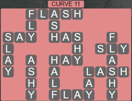 Wordscapes Passage Curve 11 – Level 2507 Answers