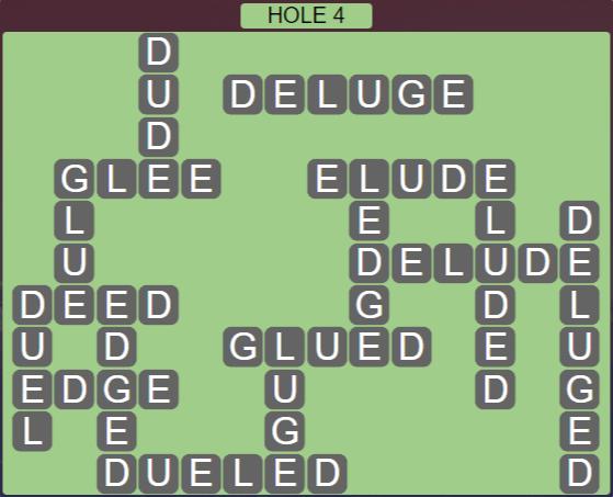 Wordscapes Passage Hole 4 - Level 2516 Answers