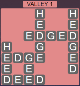 Wordscapes Air Valley 1 - Level 2561 Answers
