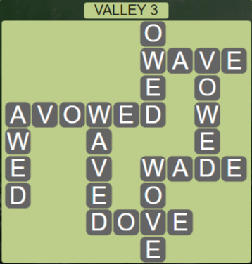 Wordscapes Air Valley 3 - Level 2563 Answers