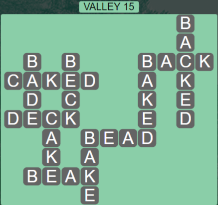 Wordscapes Air Valley 15 - Level 2575 Answers