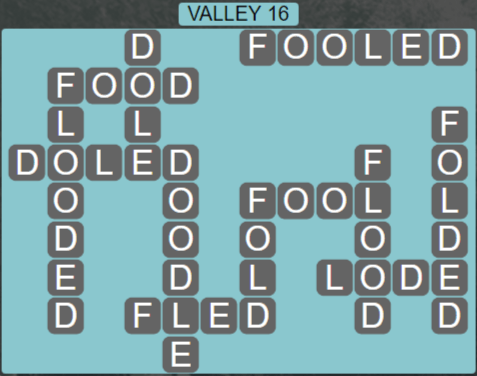 Wordscapes Air Valley 16 - Level 2576 Answers