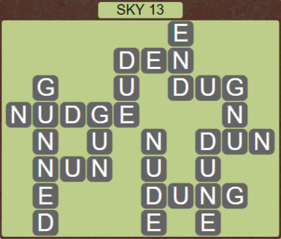 Wordscapes Air Sky 13 - Level 2589 Answers