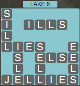 Wordscapes Air Lake 6 - Level 2598 Answers