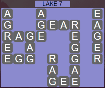 Wordscapes Air Lake 7 - Level 2599 Answers