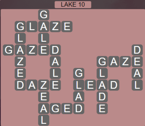 Wordscapes Air Lake 10 - Level 2602 Answers