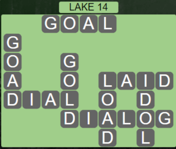 Wordscapes Air Lake 14 - Level 2606 Answers