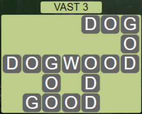 Wordscapes Air Vast 3 - Level 2611 Answers