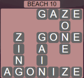 Wordscapes Lagoon Beach 10 - Level 2666 Answers