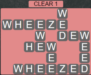 Wordscapes Lagoon Clear 1 - Level 2673 Answers
