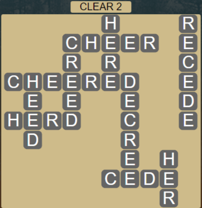 Wordscapes Lagoon Clear 2 - Level 2674 Answers