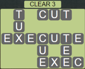 Wordscapes Lagoon Clear 3 - Level 2675 Answers