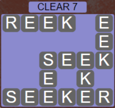 Wordscapes Lagoon Clear 7 - Level 2679 Answers
