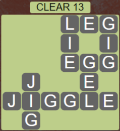 Wordscapes Lagoon Clear 13 - Level 2685 Answers