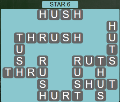Wordscapes Lagoon Star 6 - Level 2694 Answers