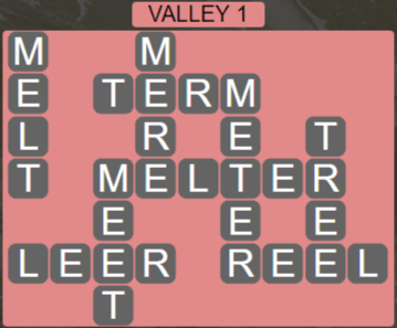 Wordscapes Peak Valley 1 - Level 2721 Answers