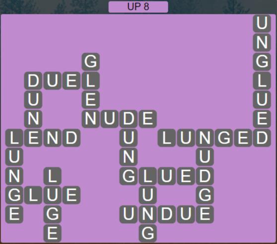 Wordscapes Peak Up 8 - Level 2744 Answers