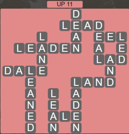 Wordscapes Peak Up 11 - Level 2747 Answers