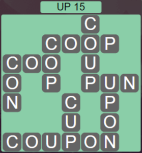 Wordscapes Peak Up 15 - Level 2751 Answers