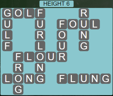 Wordscapes Peak Height 6 - Level 2758 Answers