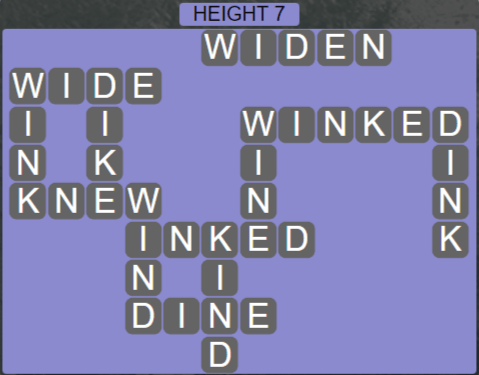 Wordscapes Peak Height 7 - Level 2759 Answers