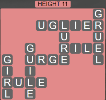 Wordscapes Peak Height 11 - Level 2763 Answers