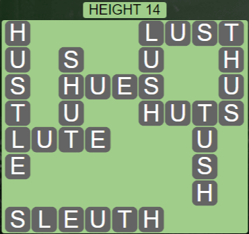 Wordscapes Peak Height 14 - Level 2766 Answers