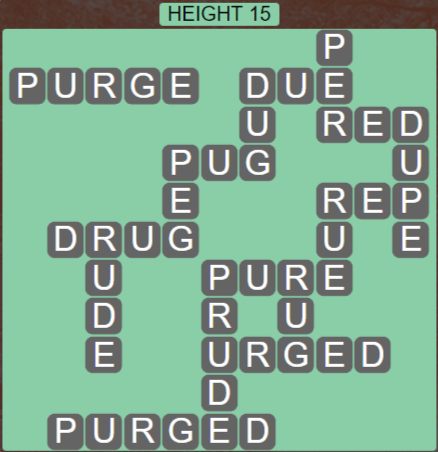 Wordscapes Peak Height 15 - Level 2767 Answers
