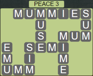 Wordscapes Peak Peace 3 - Level 2771 Answers