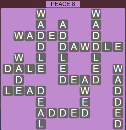 Wordscapes Peak Peace 8 - Level 2776 Answers