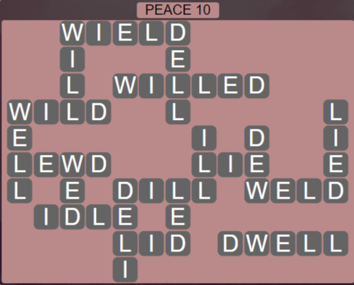 Wordscapes Peak Peace 10 - Level 2778 Answers