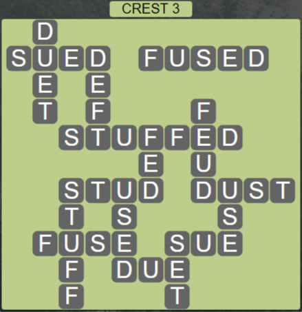 Wordscapes Peak Crest 3 - Level 2787 Answers