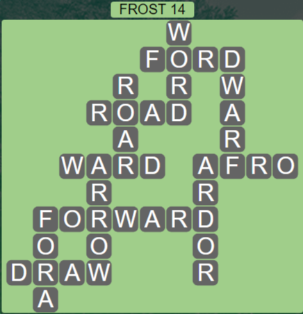 Wordscapes Ice Frost 14 - Level 2814 Answers
