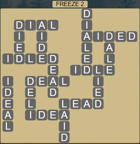 Wordscapes Ice Freeze 2 - Level 2818 Answers