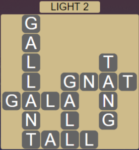 Wordscapes Ice Light 2 - Level 2834 Answers
