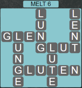 Wordscapes Ice Melt 6 - Level 2854 Answers