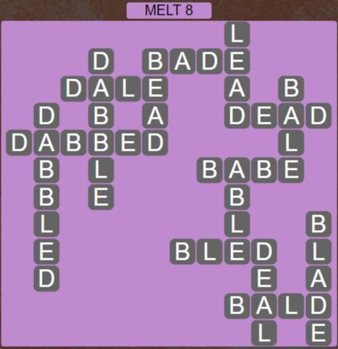 Wordscapes Ice Melt 8 - Level 2856 Answers