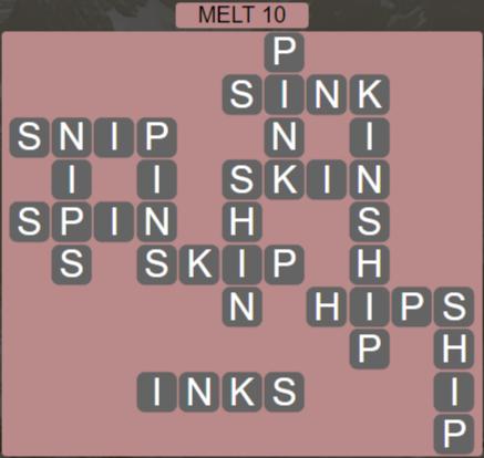 Wordscapes Ice Melt 10 - Level 2858 Answers