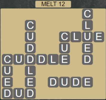 Wordscapes Ice Melt 12 - Level 2860 Answers