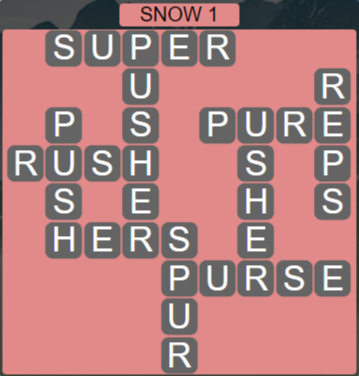 Wordscapes Ice Snow 1 - Level 2865 Answers