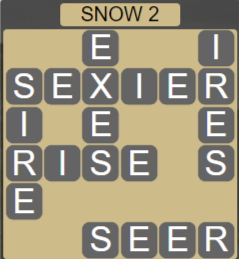 Wordscapes Ice Snow 2 - Level 2866 Answers