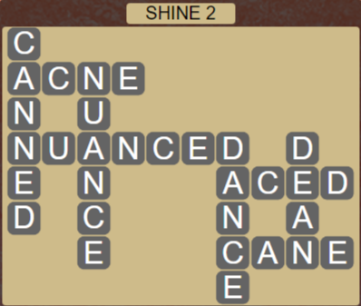 Wordscapes Bloom Shine 2 - Level 2914 Answers