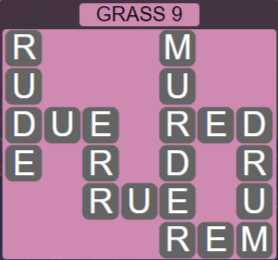Wordscapes Bloom Grass 9 - Level 2937 Answers