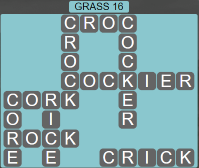 Wordscapes Bloom Grass 16 - Level 2944 Answers