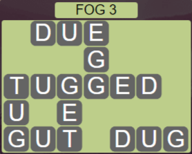 Wordscapes Fall Fog 3 - Level 2963 Answers