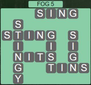 Wordscapes Fall Fog 5 - Level 2965 Answers