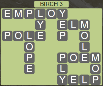 Wordscapes Fall Birch 3 - Level 2979 Answers