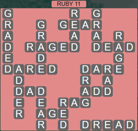 Wordscapes Fall Ruby 11 - Level 3003 Answers